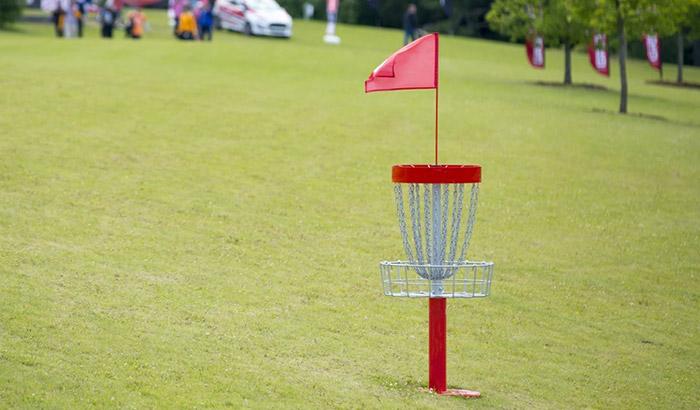 best portable disc golf basket