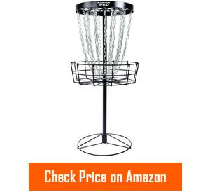 mvp black hole pro portable disc golf baskets
