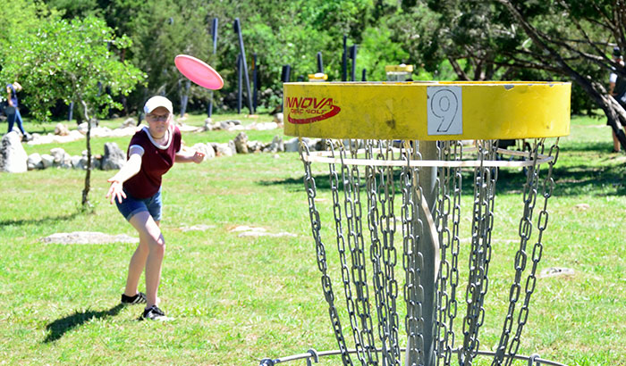 why spin putting the disc golf disc