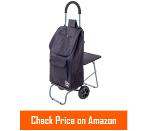 dbest products trolley dolly cart